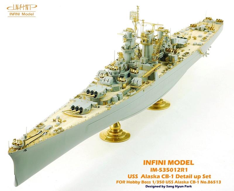 USS Alaska CB-1 (Hobby Boss 1/350°) par horos 22861710