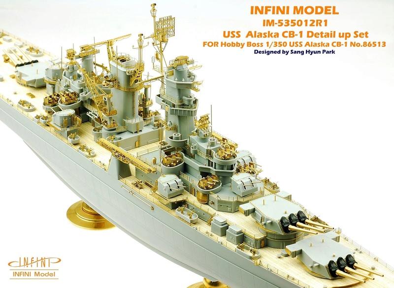 USS Alaska CB-1 (Hobby Boss 1/350°) par horos 22904510