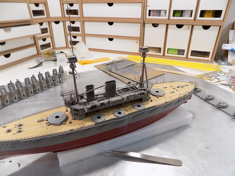 HMS Lord Nelson (Hobby Boss 1/350°) par horos - Page 3 Dscn0910