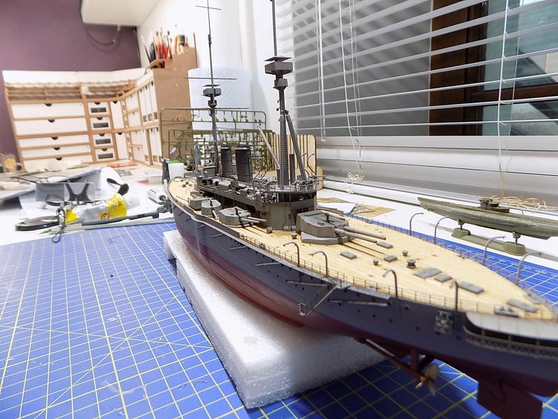 HMS LORD NELSON Hobbyboss 1/350ème - Page 3 Dscn0914