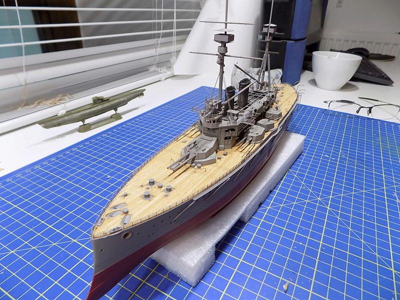 HMS LORD NELSON Hobbyboss 1/350ème - Page 3 Dscn0917