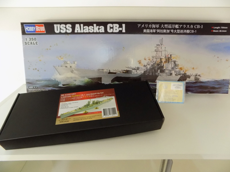 USS Alaska CB-1 de Hobby Boss 1/350ème Dscn1112