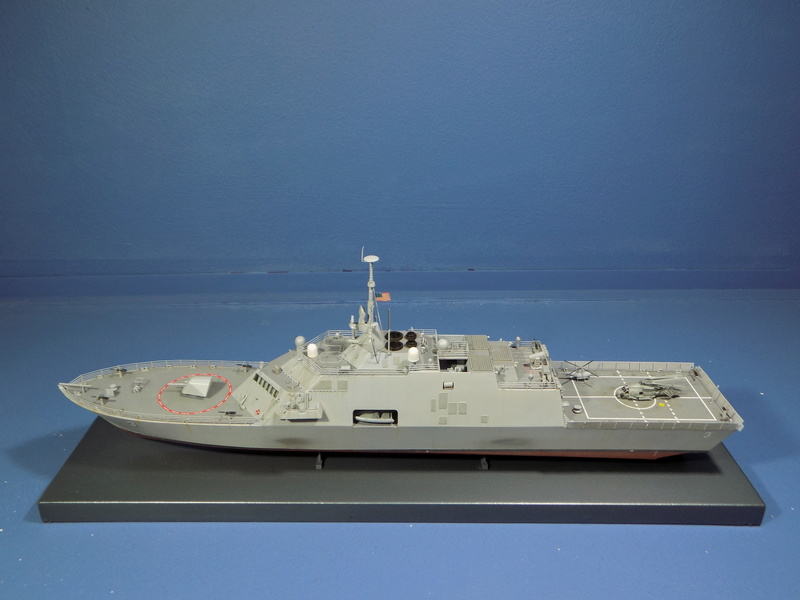 USS Fort Worth LCS-3 Trumpeter 1/350 Dscn1360