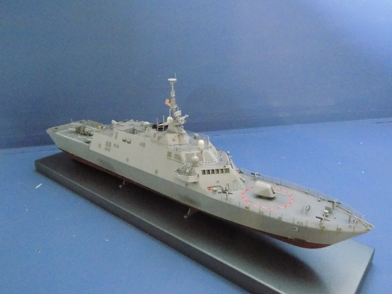 USS Fort Worth LCS-3 Trumpeter 1/350 Dscn1364