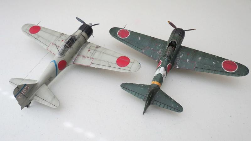 "Le ""JUNYO"" PA Jap 1/350 Hasegawa - Page 5 Zero10"