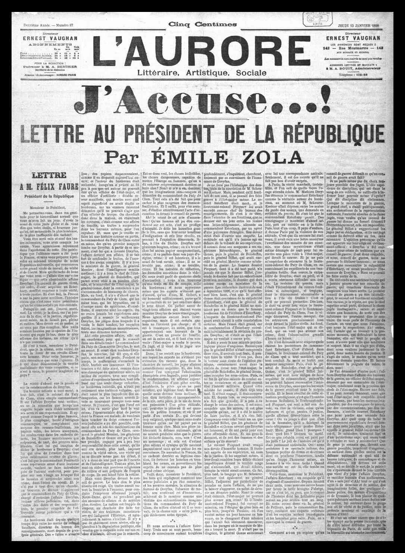 L'Aurore du 13 janvier 1898 Aurore10