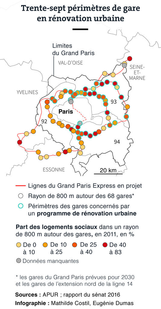 Nouveaux quartiers construits autour des stations de métro du Grand Paris B9fad010