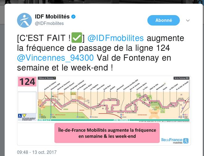 De quel droit la RATP interrompt la ligne 124 pendant 36h ? Captur12