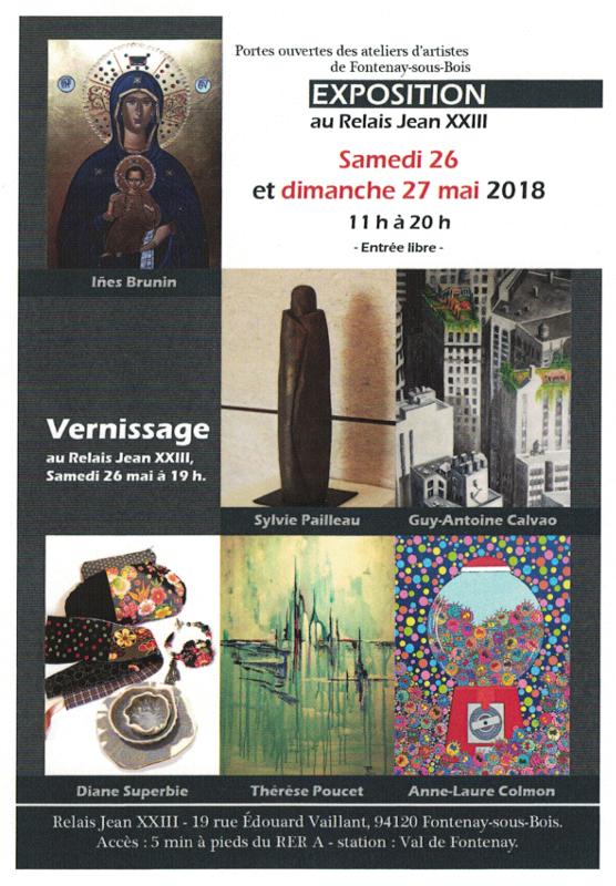 Exposition au Relais Jean XXIII Relais10