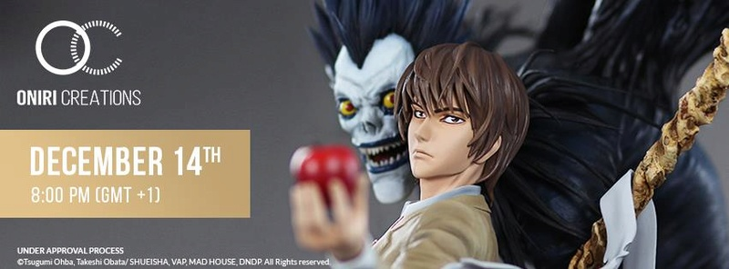 Oniri Créations : Death Note statue - Page 2 24993610