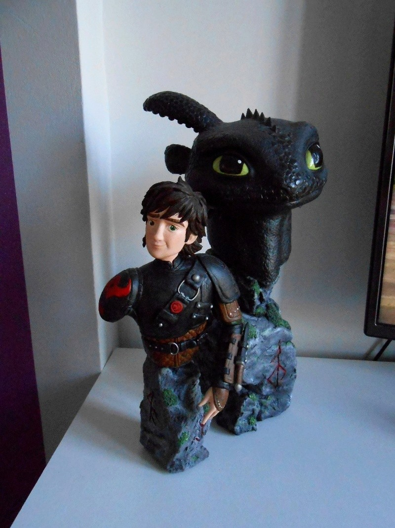 Collection de Diablo21 - Disney, Marvel, et autres ^^ Dragon10
