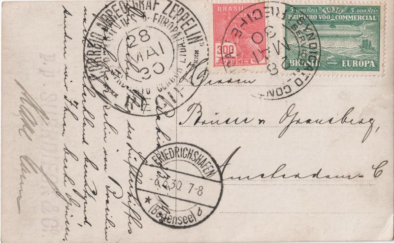 """nach - Südamerikafahrt 1930 (Rundfahrt-) Post nach Friedrichshafen"""" - Seite 7 Aps-fi10"""