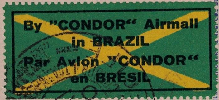 nach - Südamerikafahrt 1930, Post nach Lakehurst - Seite 4 Condor11