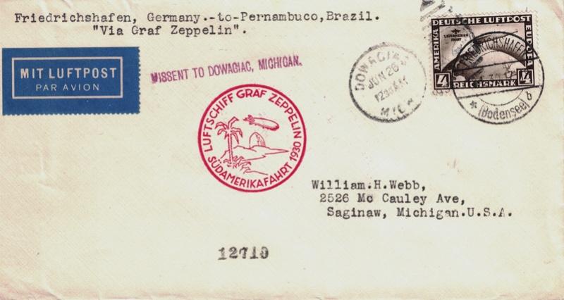 nach - Südamerikafahrt 1930, Post nach Pernambuco - Seite 3 Dowagi11
