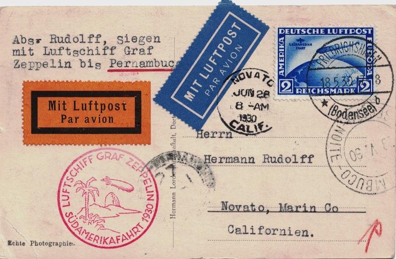 nach - Südamerikafahrt 1930, Post nach Pernambuco - Seite 3 Novato10