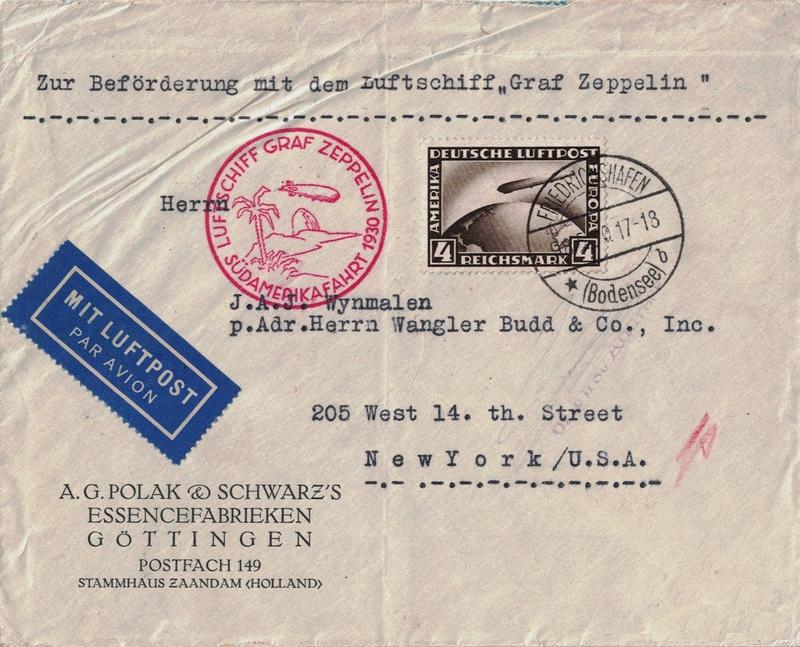 nach - Südamerikafahrt 1930, Post nach Pernambuco - Seite 3 Ny110