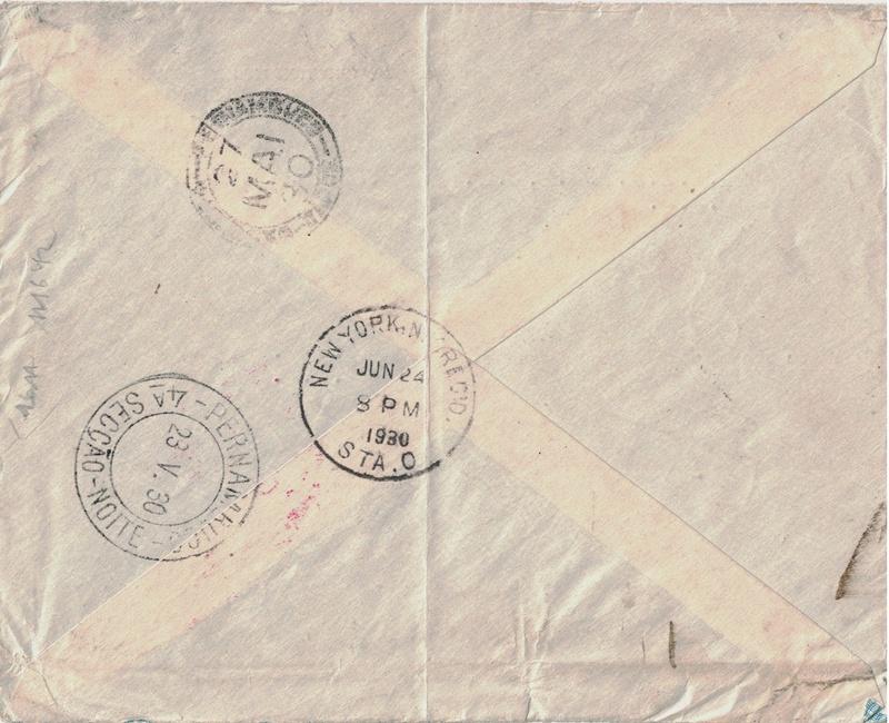 nach - Südamerikafahrt 1930, Post nach Pernambuco - Seite 3 Ny210