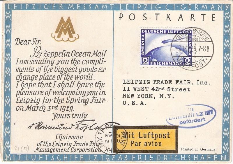 Zeppelinpost des LZ 127 - Seite 9 Sieger12