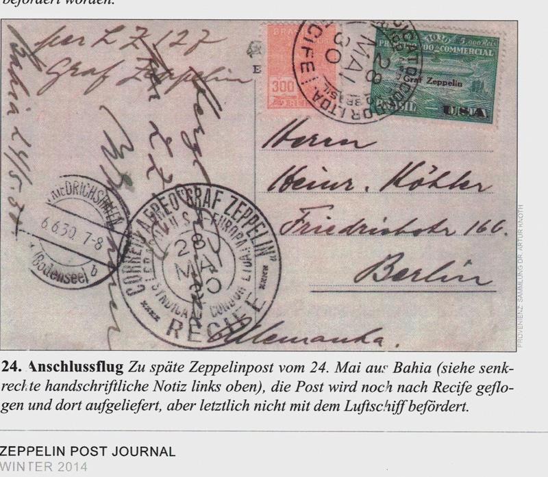 """nach - Südamerikafahrt 1930 (Rundfahrt-) Post nach Friedrichshafen"""" - Seite 7 Zpj_le10"""