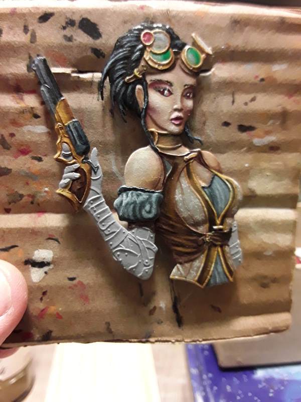 Lady Mechanica   heroine steam punk               jupiter miniatura 20180129