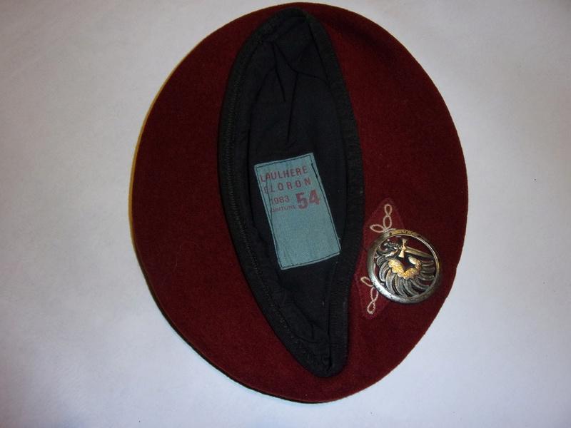 1° regiment of paratrooper hussars berets 108_0732