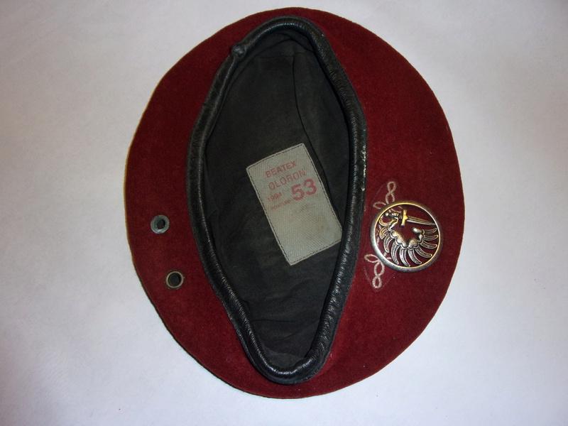 1° regiment of paratrooper hussars berets 108_0733
