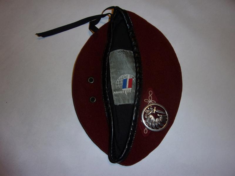 1° regiment of paratrooper hussars berets 108_0736