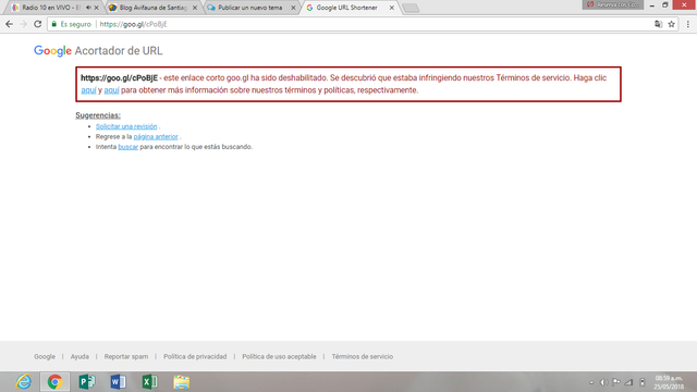 Posible Spam, malware y phishing en mi blog Sin_ty10