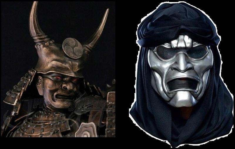 Sucker Punch, minigun samurai Masks10