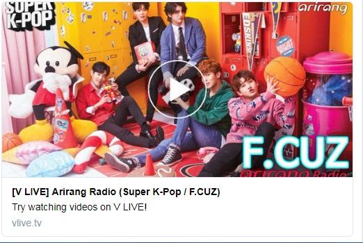 [F.Cuz ]  transmisión: ARIRANG RADIO SUPER-KPOP  16/04 12556410