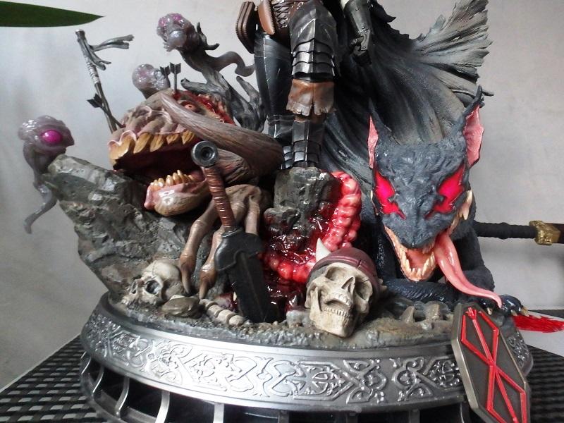 Berserk - Guts, The Black Swordsman 1/4 Statue   Berser10