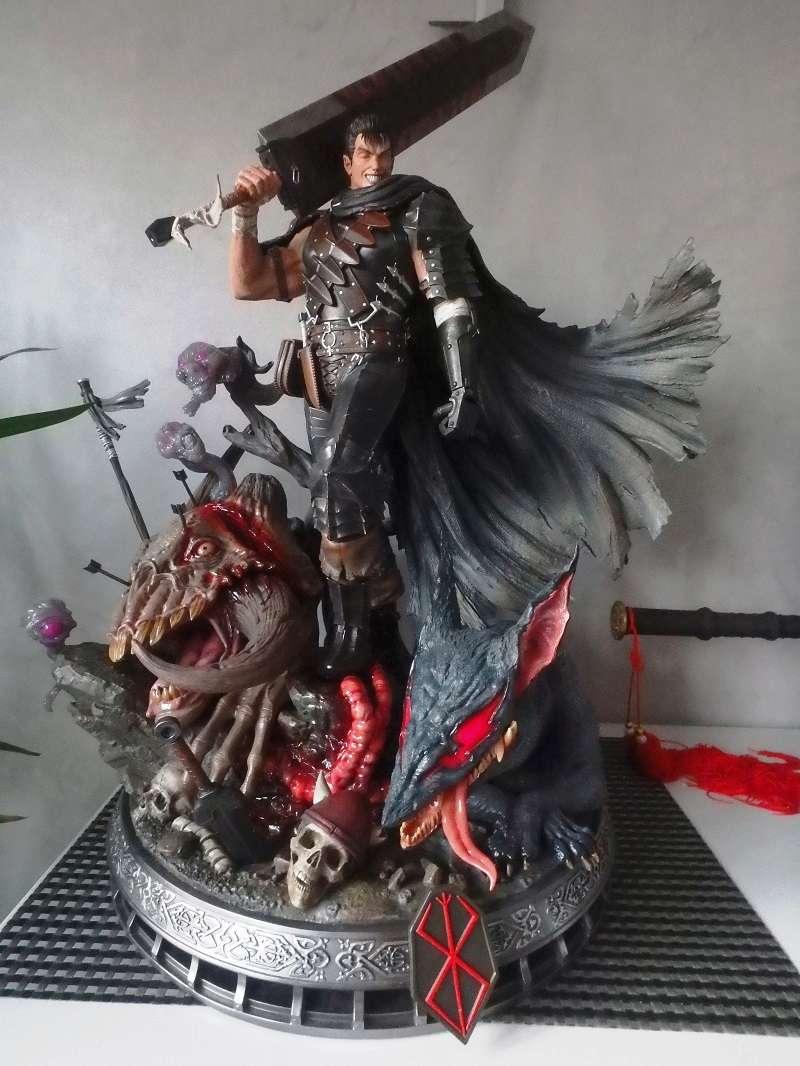Berserk - Guts, The Black Swordsman 1/4 Statue   Berser11