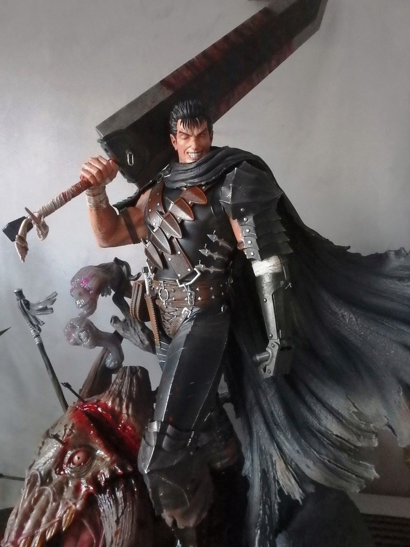 Berserk - Guts, The Black Swordsman 1/4 Statue   Berser12