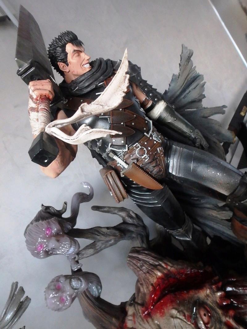 Berserk - Guts, The Black Swordsman 1/4 Statue   Berser14