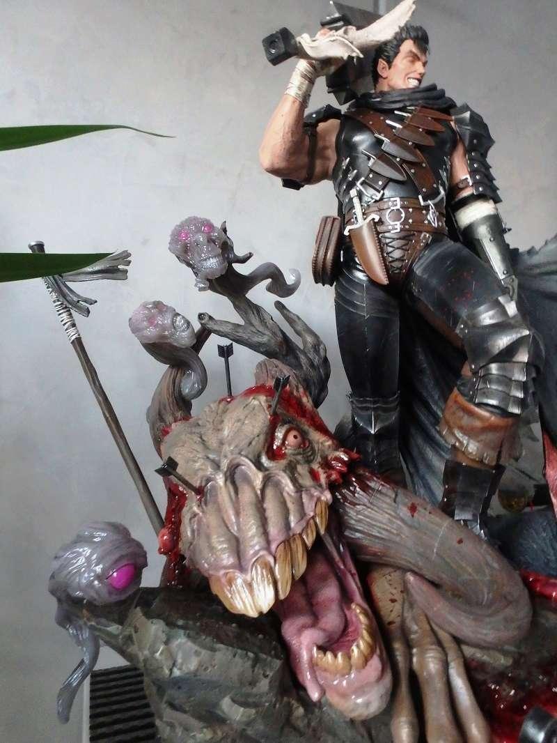 Berserk - Guts, The Black Swordsman 1/4 Statue   Berser16