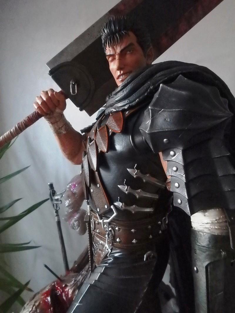 Berserk - Guts, The Black Swordsman 1/4 Statue   Berser17