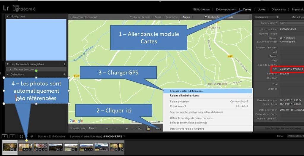 Géolocalisation avec Image App Geo10