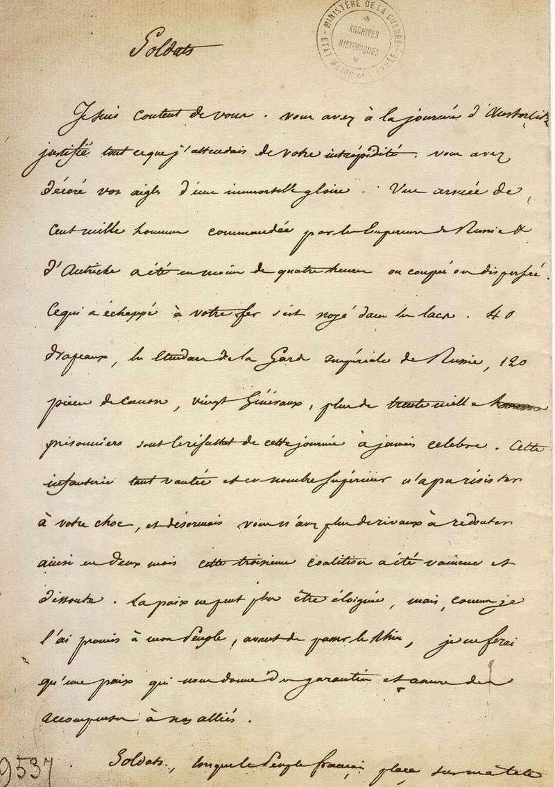 Austerlitz : 2 décembre 1805 33010