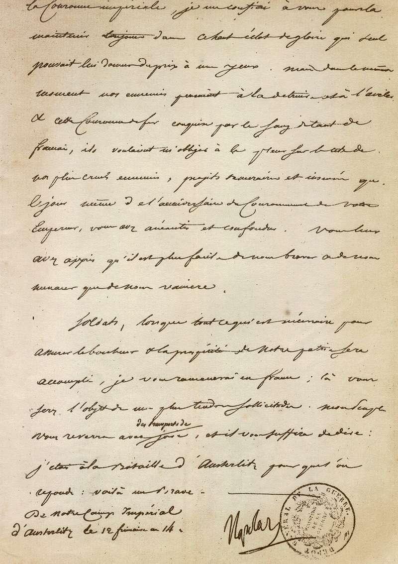 Austerlitz : 2 décembre 1805 33110