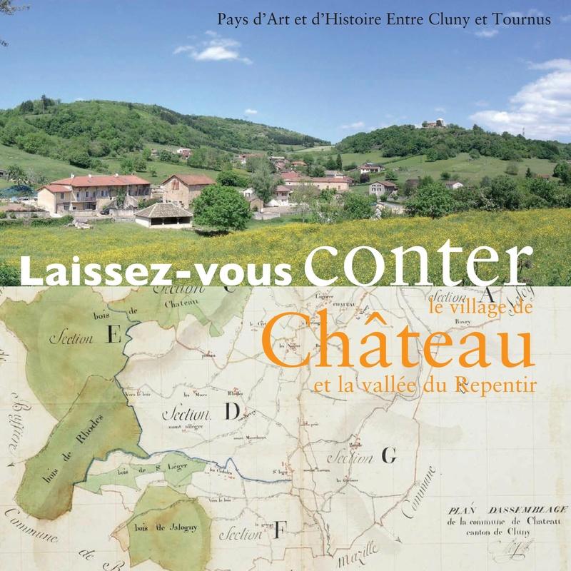 Laissez-vous conter ... le village de Château et bilan 2017 de Château Patrimoine 0110