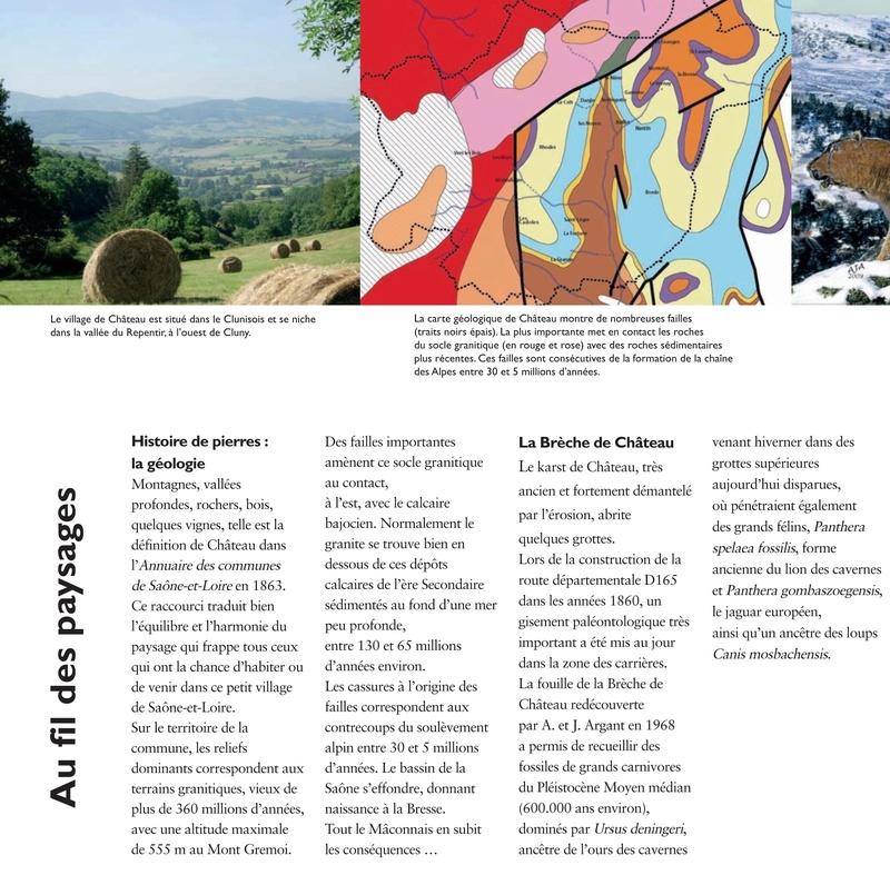 Laissez-vous conter ... le village de Château et bilan 2017 de Château Patrimoine 0210