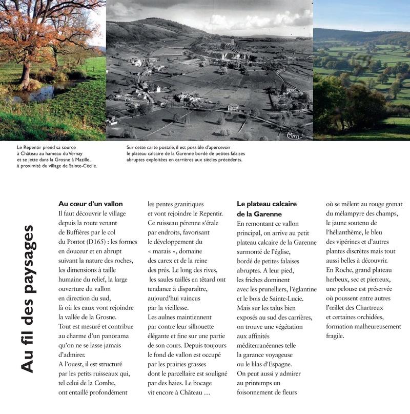 Laissez-vous conter ... le village de Château et bilan 2017 de Château Patrimoine 0410