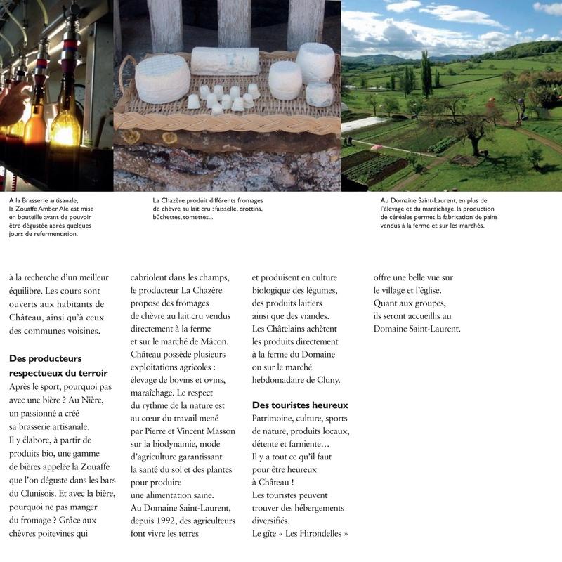 Laissez-vous conter ... le village de Château et bilan 2017 de Château Patrimoine 0910