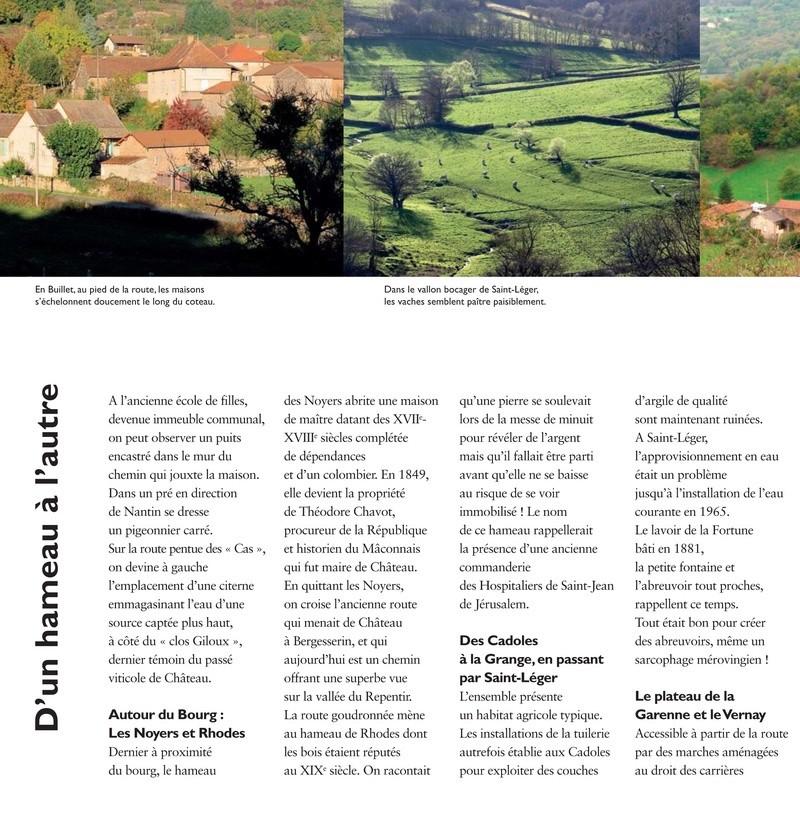 Laissez-vous conter ... le village de Château et bilan 2017 de Château Patrimoine 1210