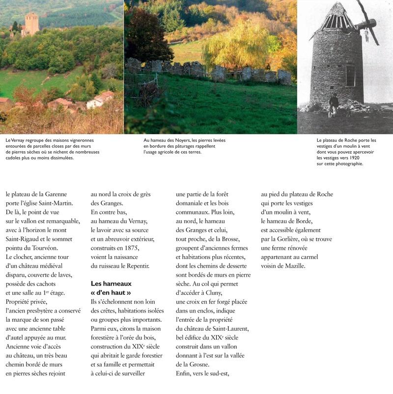 Laissez-vous conter ... le village de Château et bilan 2017 de Château Patrimoine 1310