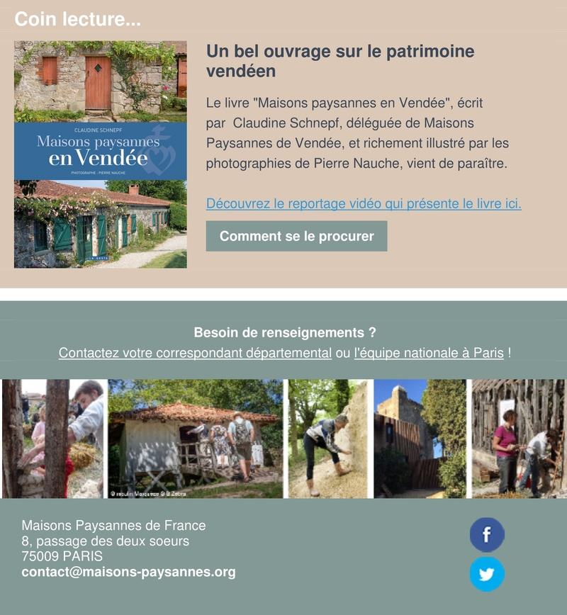 Lettre d'info Maisons Paysannes de France - décembre 2017 310