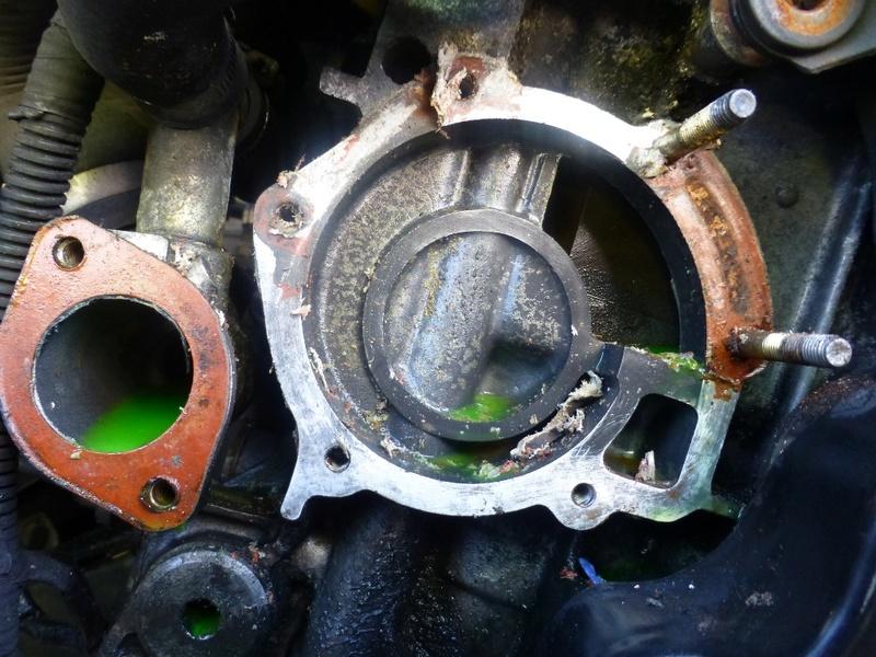 Pompe à eau moteur J8S 20_p1110