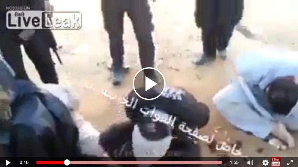 Les Gros Bras d'ISIS gémissent et pleurent comme des bébés Daesh110