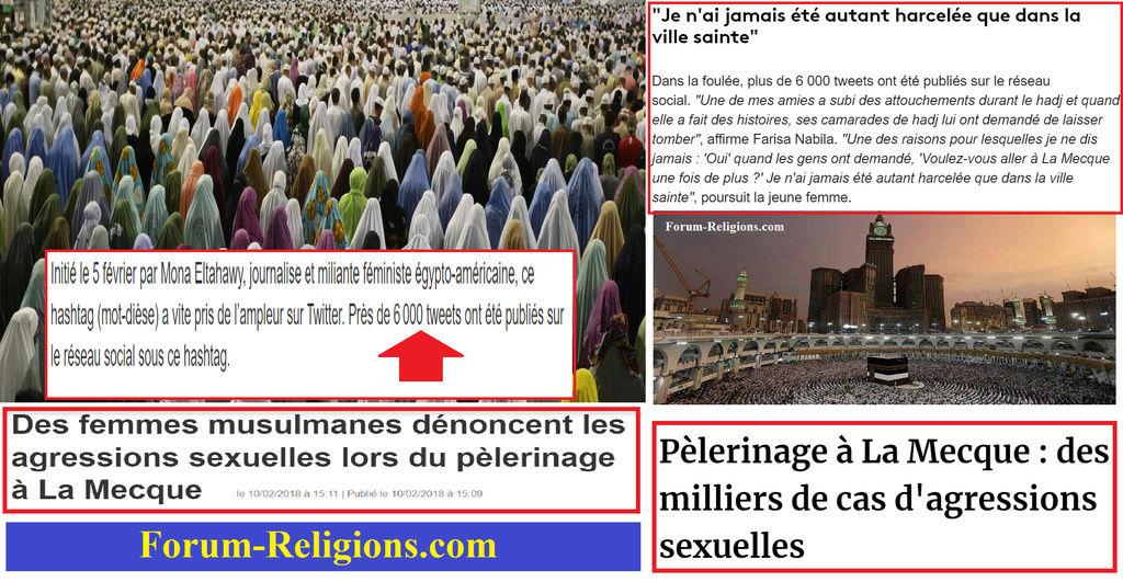 Des milliers d'agressions sexuelles à la Mecque  Mecque10