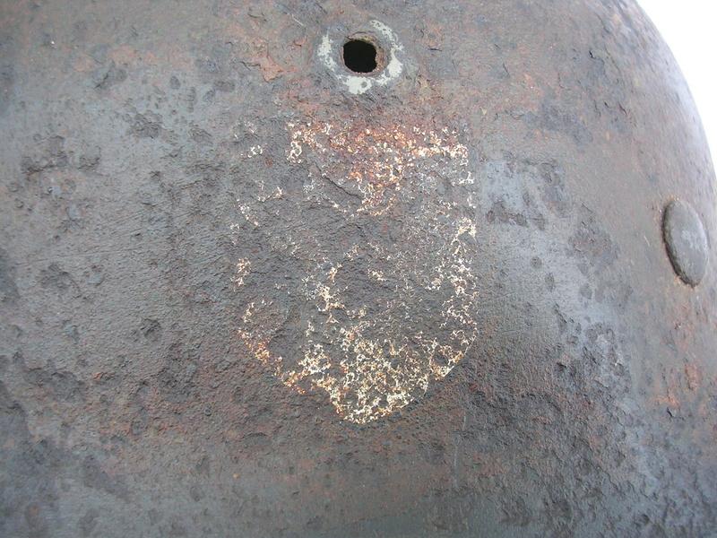 épave casque waffen de fouille Dscn7411